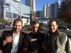 Partnership in the making at Dreamforce, San Francisco, today